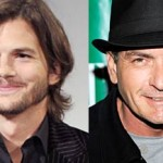 Ashton Kutcher - Charlie Sheen